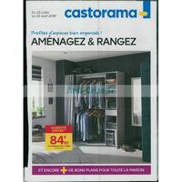 Catalogue castorama du 25 juillet au 20 août 2018