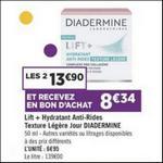 Bon Plan Crème Diadermine Lift+ chez Géant Casino - anti-crise.fr