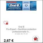 Bon Plan Dentifrice Oral-B Pro-Expert Protection Professionnelle - anti-crise.fr