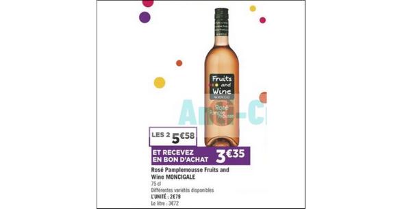 Bon Plan Fruits & Wine chez Géant Casino - anti-crise.fr