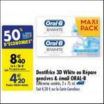 Bon Plan Dentifrice Oral-B Répare Gencives & Email chez Carrefour - anti-crise.fr