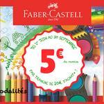 Offre de Remboursement Faber-Castell : 5€ Remboursés par Tranches de 20€ - anti-crise.fr