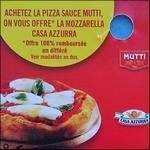 Offre de Remboursement Mutti & Casa Azzurra : Mozzarella 100% Remboursée - anti-crise.fr