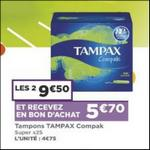 Bon Plan Tampons Tampax chez Casino - anti-crise.fr