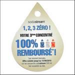 Offre de Remboursement Sodastream : 3ème Concentré 100% Remboursé - anti-crise.fr
