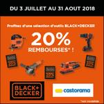 Offre de Remboursement Black+ Decker : 20% Remboursés sur une Sélection d'Outils - anti-crise.fr
