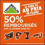 Offre de Remboursement Black+ Decker : 50% Remboursés sur la Gamme Sans fil - anti-crise.fr