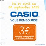 Offre de Remboursement Casio : 3€ Remboursés sur Calculatrice fx-92+ Spéciale Collège - anti-crise.fr