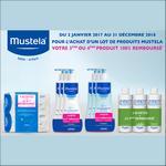 Offre de Remboursement Mustela : 3ème ou 4ème Lot 100% Remboursé - anti-crise.fr