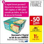 Bon Plan Dessert Gourmand Végétal Andros chez Carrefour - anti-crise.fr