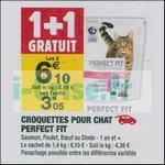 Bon Plan Croquettes pour Chat Perfect Fit chez Carrefour Market - anti-crise.fr