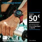 Offre de Remboursement Samsung : Jusqu'à 50€ remboursés sur Gear Sport ou Gear S3 - anti-crise.fr