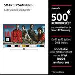 Offre de Remboursement Samsung : Jusqu'à 500€ Remboursés sur Smart TV - anti-crise.fr