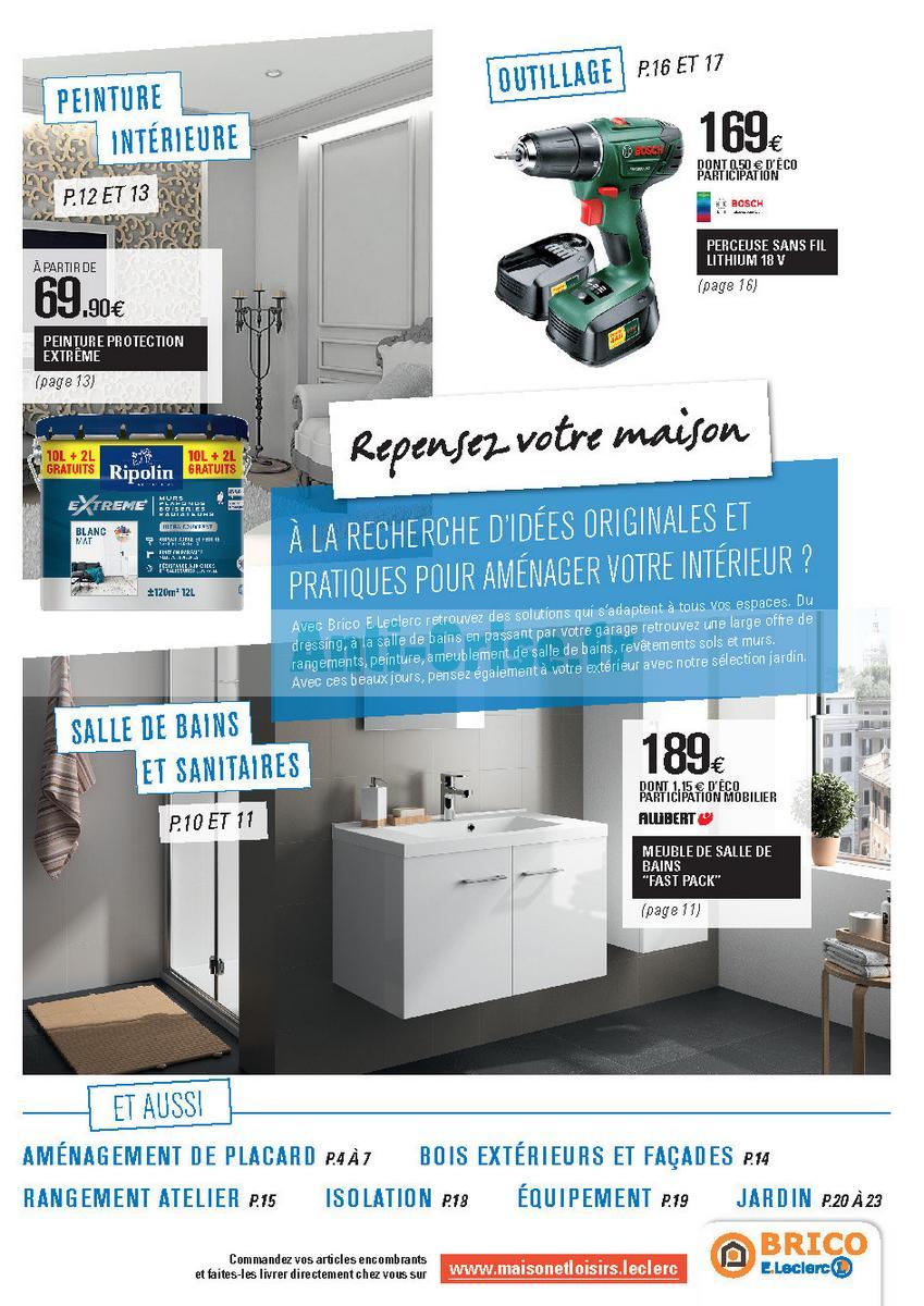 Leclerc Bricolage Granville : leclerc bricolage catalogue ~ Melissatoandfro.com Idées de Décoration