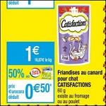 Bon Plan Friandises pour Chat Catisfactions chez Cora (03/07 - 09/07) - anti-crise.fr