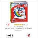 Bon Plan Lingettes Décolor Stop x12 Eau Ecarlate chez Intermarché (30/07) - anti-crise.Fr
