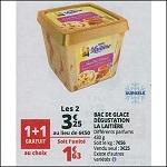 Bon Plan Bac de Glace La Laitière chez Auchan (17/07 - 24/07) - anti-crise.fr