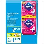 Bon Plan Tampons Nana chez Cora (03/07 - 09/07) - anti-crise.fr
