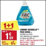 Bon Plan Liquide Vaisselle Paic chez Atac (29/08 - 03/09) - anti-crise.fr