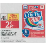 Bon Plan Lingettes Décolor Stop chez Auchan Supermarché (29/08 - 31/08) - anti-crise.fr