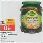 Bon Plan Cornichons Kühne chez Auchan Supermarché (29/08 - 09/09) - anti-crise.fr
