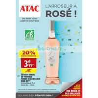 Catalogue Atac du 16 au 20 août 2018
