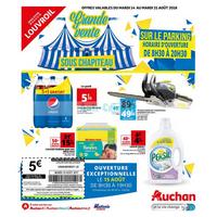 Catalogue Auchan du 14 au 21 août 2018 (Louvroil)