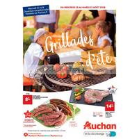 Catalogue Auchan du 15 au 21 août 2018 (Centre-Est - Grillades)