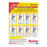Catalogue Auchan du 1er au 31 août 2018 (Châteauroux)