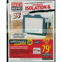 Catalogue Brico Dépôt du 7 septembre au 4 octobre 2018