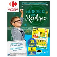 Catalogue Carrefour Market du 13 août au 2 septembre 2018 (Rentrée Scolaire)