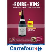 Catalogue Carrefour du 11 au 24 septembre 2018 (Crêches-sur-Saône)