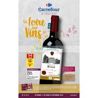 Catalogue Carrefour du 11 au 24 septembre 2018 (IDF Nord - Vins)