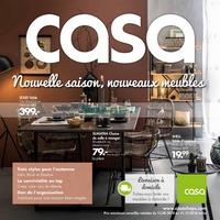 Catalogue Casa du 13 août au 31 décembre 2018