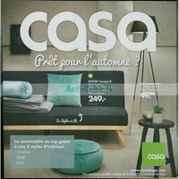 Catalogue Casa du 27 août au 30 septembre 2018