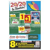 Catalogue Casino du 21 août au 2 septembre 2018