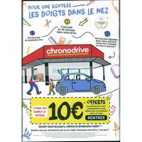 Catalogue Chronodrive du 28 août au 30 septembre 2018