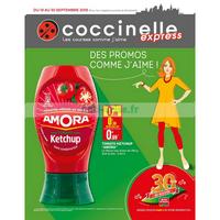 Catalogue Coccinelle du 19 au 30 septembre 2018 (Express)