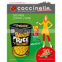 Catalogue Coccinelle du 19 au 30 septembre 2018 (Supermarché)