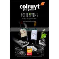 Catalogue Colruyt du 5 au 23 septembre 2018 (Vins)