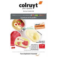Catalogue Colruyt du 8 au 19 août 2018