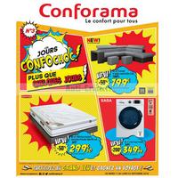 Catalogue Conforama du 11 au 24 septembre 2018