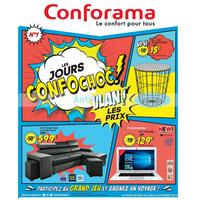 Catalogue Conforama du 28 août au 24 septembre 2018