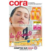Catalogue Cora du 11 au 22 septembre 2018 (Beauté)