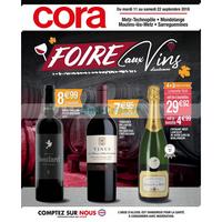 Catalogue Cora du 11 au 22 septembre 2018 (Dept 57 Vins)