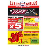 Catalogue Cora du 11 au 22 septembre 2018 (Sarreguemines)