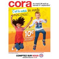 Catalogue Cora du 14 août au 1er septembre 2018 (Rentrée)