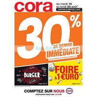Catalogue Cora du 14 au 20 août 2018