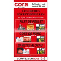 Catalogue Cora du 14 au 20 août 2018 (Val d'Yerres)