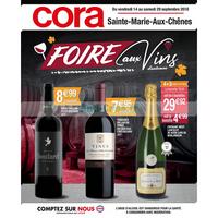 Catalogue Cora du 14 au 29 septembre 2018 (Ste-Marie-aux-Chênes)